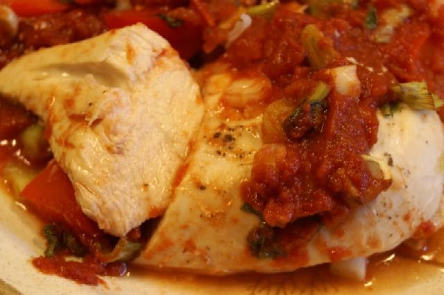 Rezept Hähnchenfilet in Tomatensauce   Lecker Ohne ...   640 x 425 jpeg 36kB